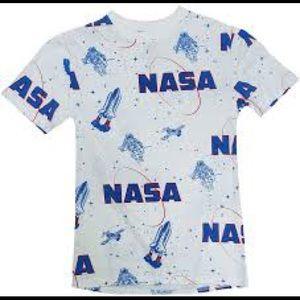 Chemistry NASA graphic tee shirt size large